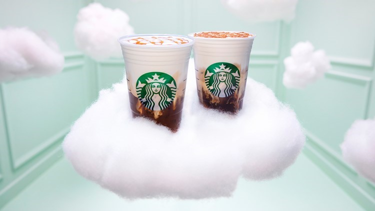 Say 'Thank U, Next' to your regular Starbucks order because the Cloud Macchiato is here