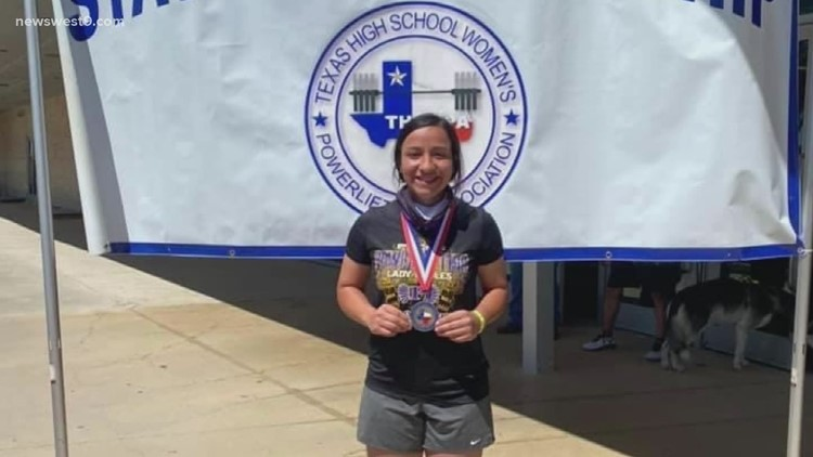 Pecos powerlifter wins state title