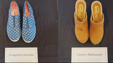 Crisis Center of West Texas debuts 'In Her Shoes' exhibit