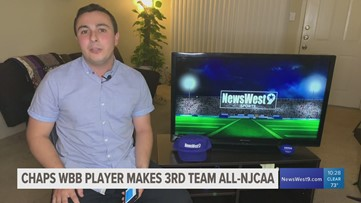 Chaps WBB player makes All-NJCAA Third Team