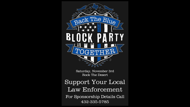Donations still needed for 2018 Back the Blue party