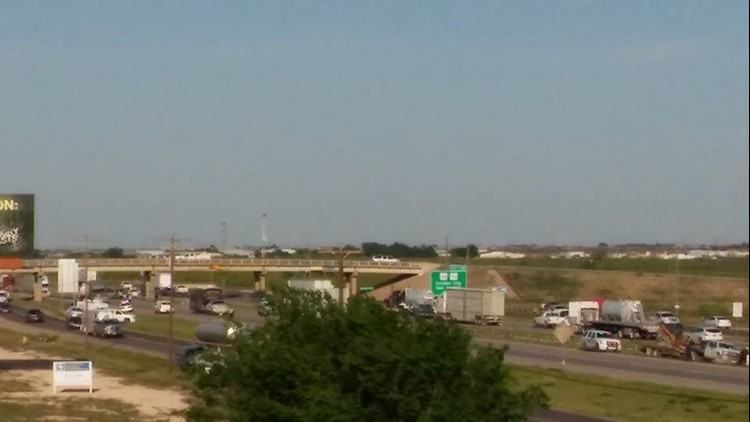 15-year-old killed in car-pedestrian accident along I-20 in