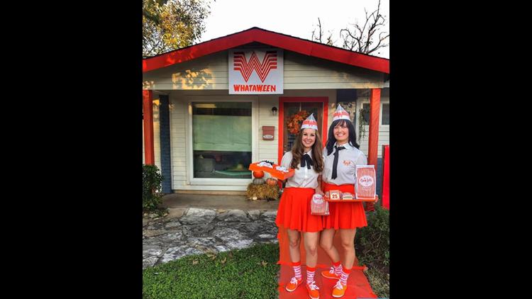 Whataween: Austin couple transforms home into a Whataburger