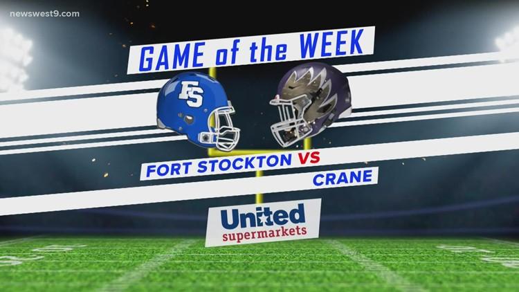 Week 6   Fort Stockton vs. Crane