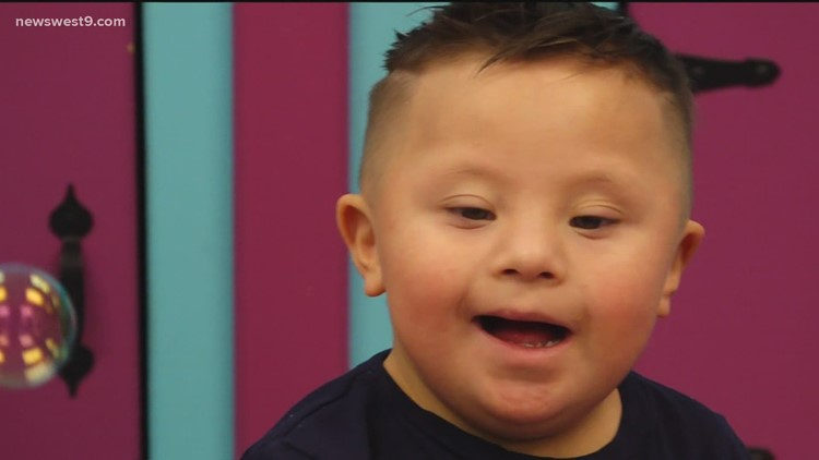 Meet Kethan, a little boy making big strides thanks to PBRC