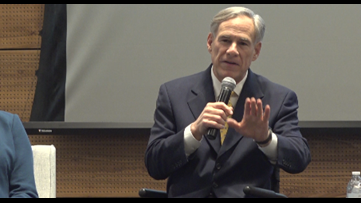 Governor Abbott holds virtual town-hall meeting to address concerns about COVID-19
