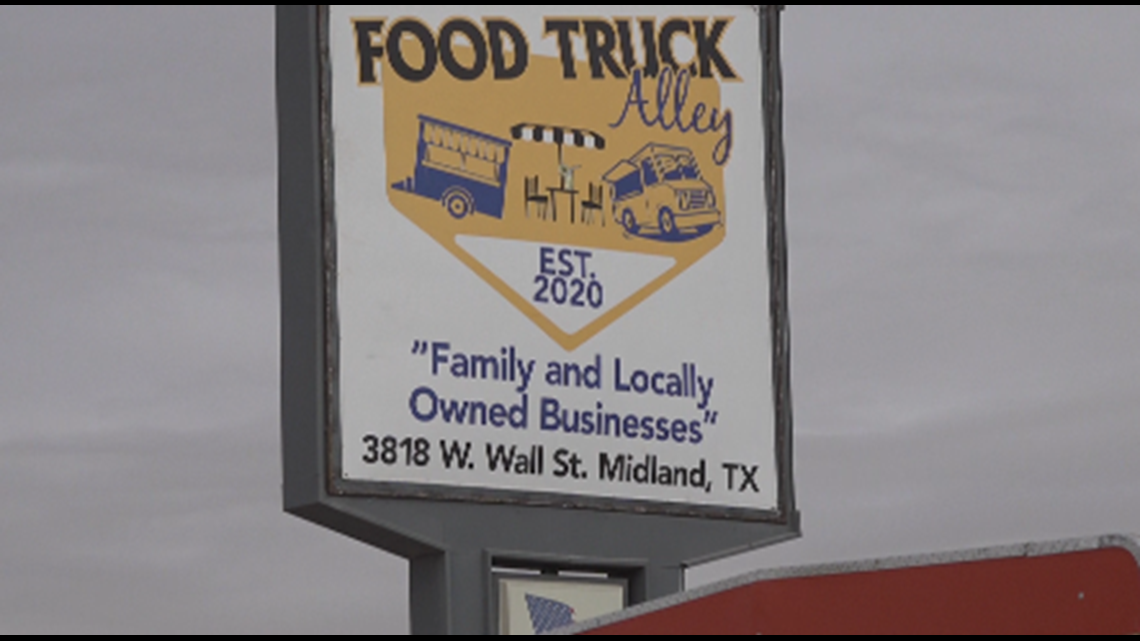 Food Truck Alley opens in Midland