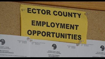 Ector Co. looking for record-high amount of employees
