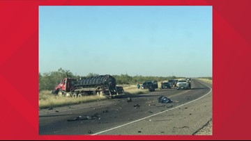 DPS identifies victim in deadly crash on East Loop 338 in Ector Co.