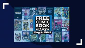 Score a free comic book May 4 at The HIVE Comics