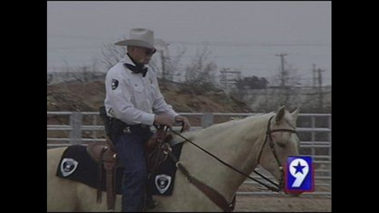 Mounted Police Department Working with Midland Sheriff's Office