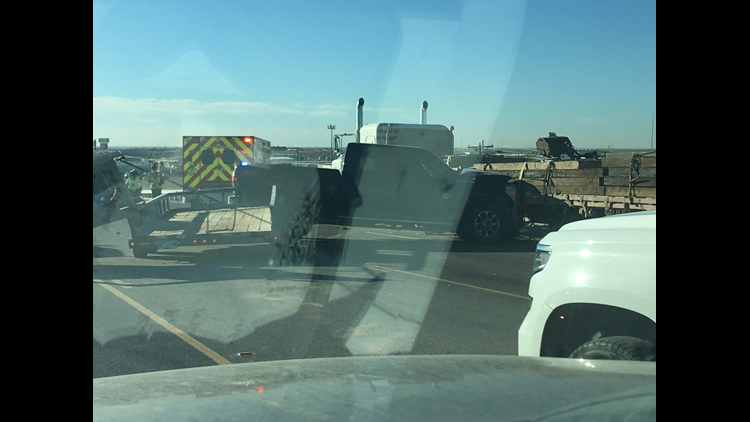 FM 1788, Highway 80 overpass reopened after accident