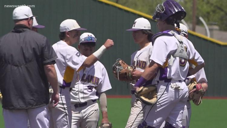 Midland High baseball vs Abilene High