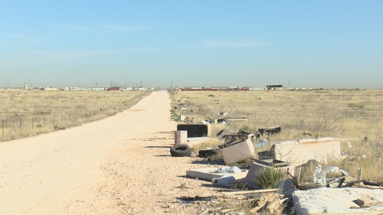 Midland County DA's Environmental Enforcement Unit tracking illegal dumping