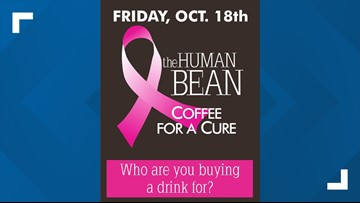 The Human Bean donating 100% of proceeds to breast cancer screenings