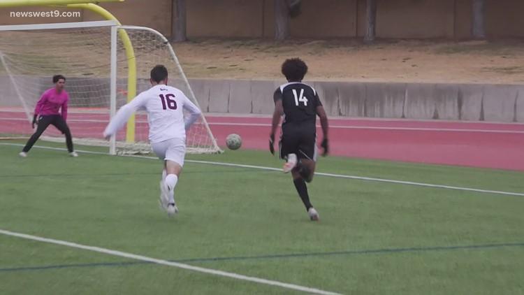 Permian boys soccer vs Lee