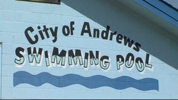 Andrews Splash Park opens for the summer Tuesday