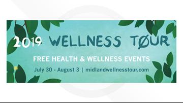 5th Annual Wellness Tour kicks off across Midland
