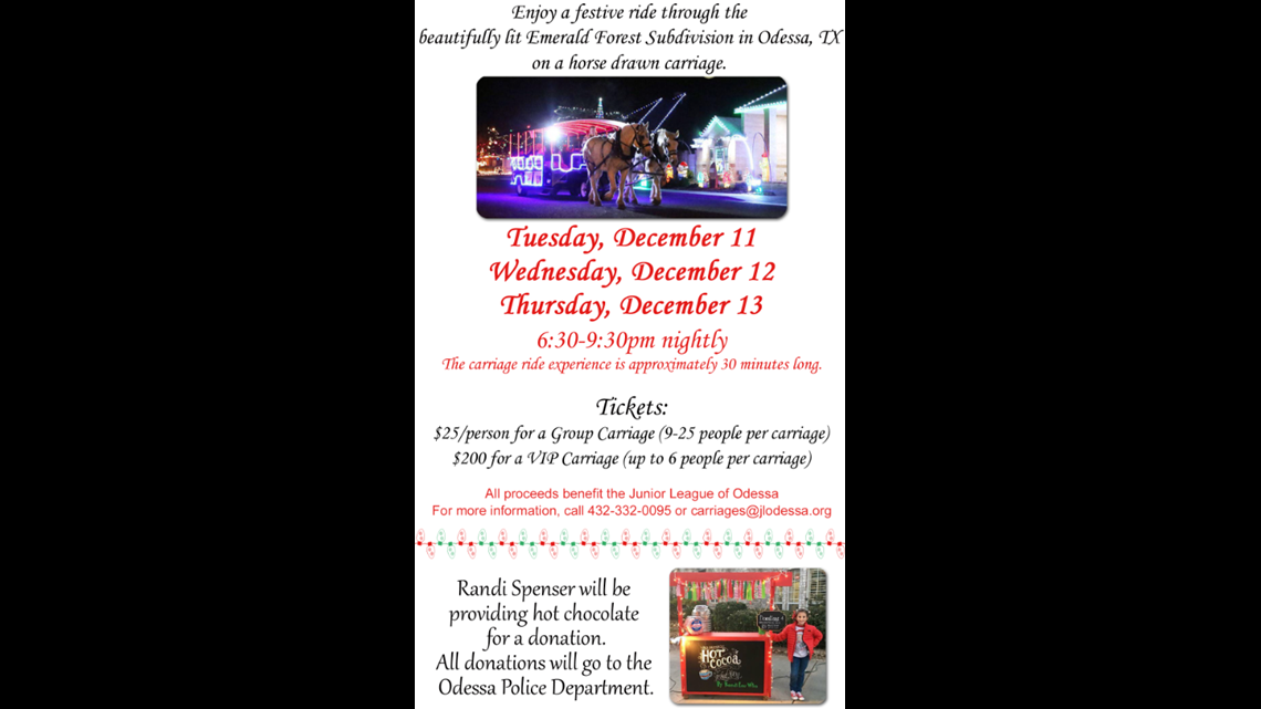 Odessa Tradition Returns As Shiloh Road Transforms Into Christmas Street Newswest9 Com