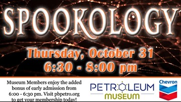 Petroleum Museum presents 'Spookology' Family Science Night