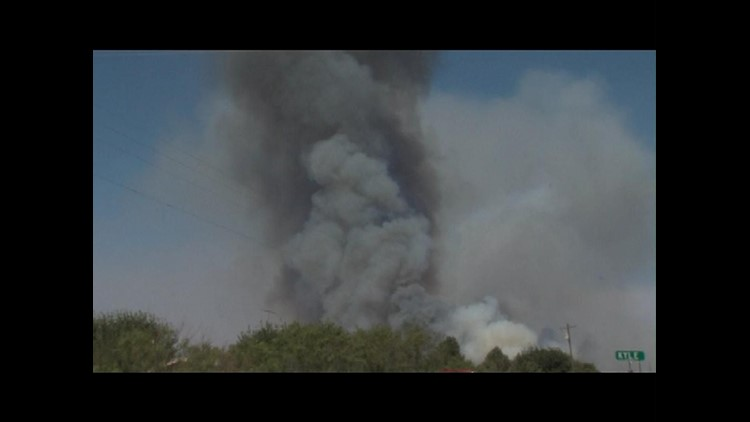 Todd Road Fire in Big Spring Burns 1,500 Acres
