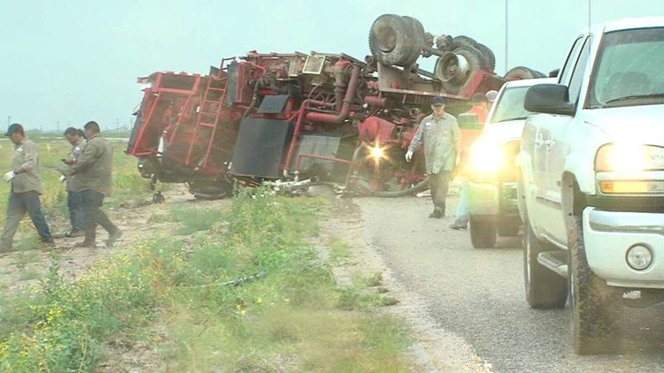 Wet Roads May Be To Blame For Rollover Accident In Midland County