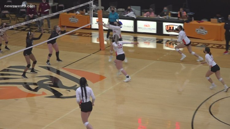 UTPB Volleyball vs West Texas A&M