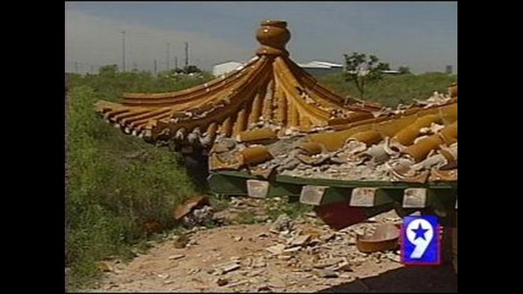 Midland's Chinese Pavilion Demolished