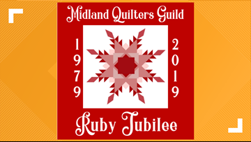 Quilty as Charged: Midland Quilters Guild Ruby Jubilee  begins this October