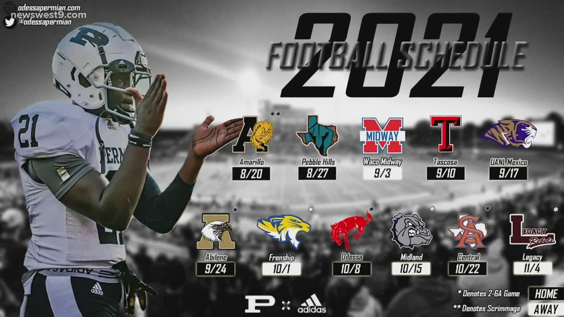 Lee & Permian release 2021-2022 football schedule