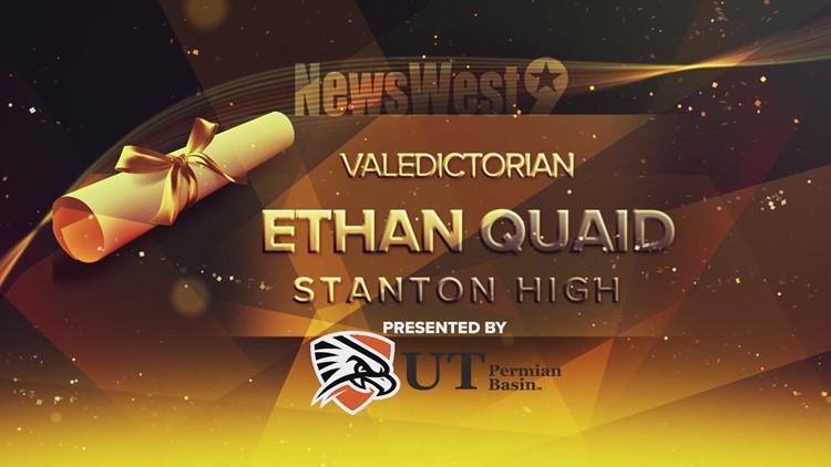 Ethan Quaid - Valedictorian of Stanton High