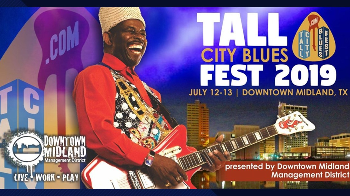 Tall City Blues Fest returns to Midland