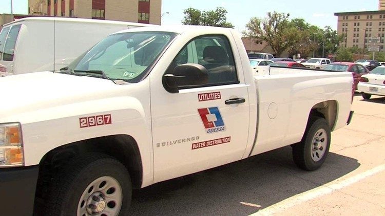 Odessa City Worker Ticketed After His Truck Was Stolen