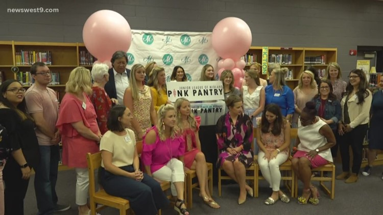 "Non-profits bring ""Pink Pantry"" to Midland ISD high schools"