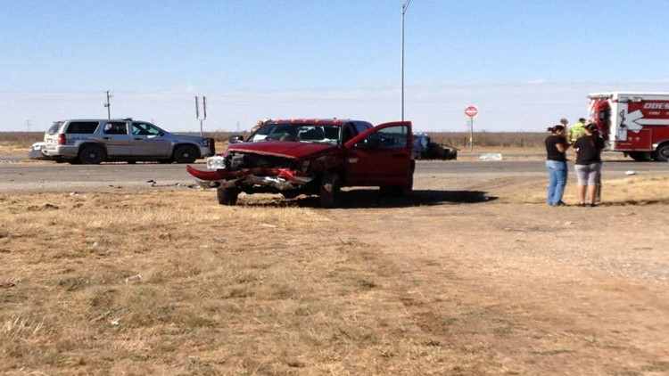 Two Car Accident Causes Traffic Problem in Odessa