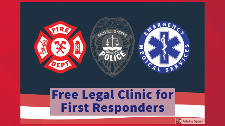 Midland and Odessa first responders to receive legal help at free legal clinic
