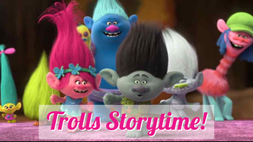 Trolls Storytime! at Midland Centennial Library