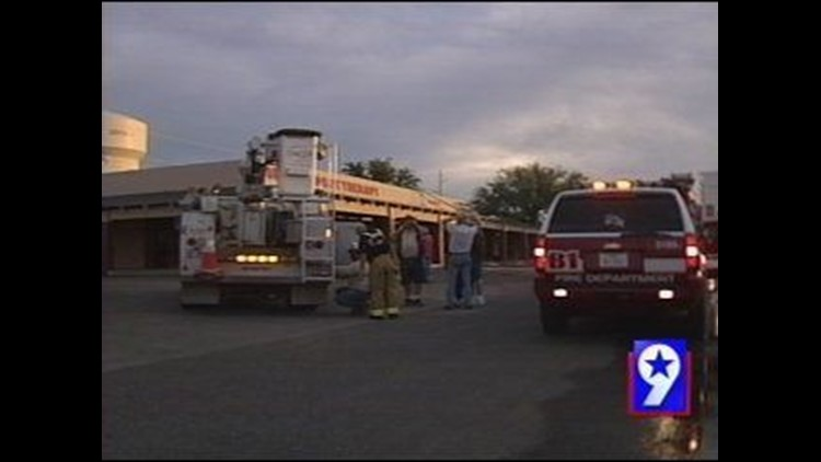 Fire Sparks Up at Odessa Business Complex