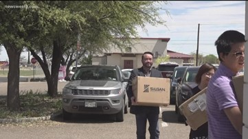 Permian Basin Chinese American community donates thousands of masks to Midland and Ector County
