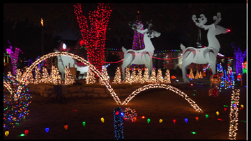 Massive Christmas display shines light on Jubilee Center
