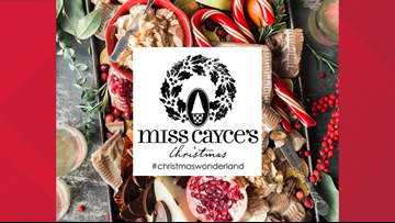 Experience the Santa experience at Miss Cayce's Wonderland
