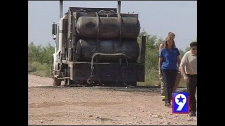 Oil Truck Driver Recovering After His Truck Caught on Fire