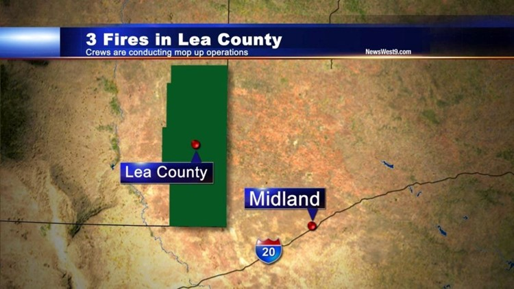 Fire Crews Contain Several Grassfires in Lea County