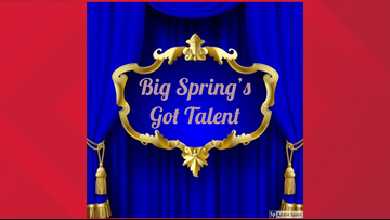 Big Spring's Got Talent looking for talent.