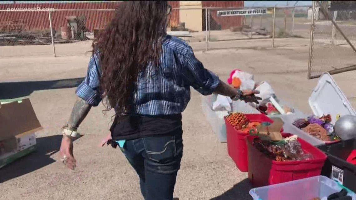 Midland woman saves donations thrown away by Goodwill