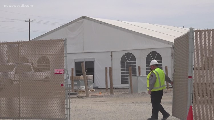 Pecos mayor announces holding facility will now house 500 migrant children