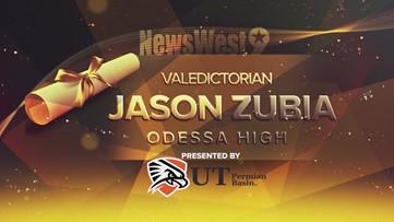 Jason Zubia - Valedictorian of Odessa High