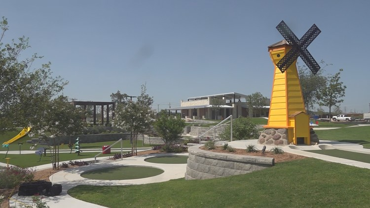A look at the newly reopened Green Acres Mini Golf Course