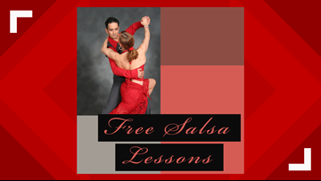 Free Salsa lessons being offered this weekend