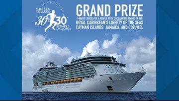 Win a 7-night cruise with OC 30 for 30 Challenge